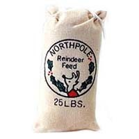 § Disc .60¢ Off - Dollhouse Reindeer Feed Bag - Product Image