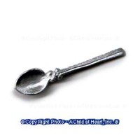 (*) Metal Serving Spoon - Product Image