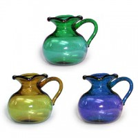 (§) Sale .30¢ Off - Glass Scalloped Top Pitcher - Product Image