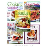 § Sale $2 Off - Dollhouse 5 pc Cooking Magazines - Product Image