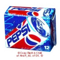 (§) Disc .60¢ Off - Dollhouse Pepsi Case - Product Image