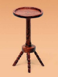 § Disc $5 Off - Dollhouse Willam & Mary Candlestand Table - Product Image