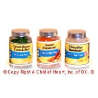 § Sale .60¢ Off - 3 Large Baby Food Jars - Product Image