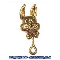 § Sale .40¢ Off - Dollhouse Miniature Baby Rattle - Product Image