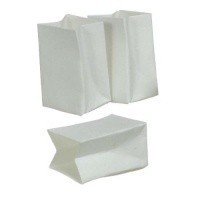 (§) Disc .40¢ Off - 3 pc White Bag Set - Product Image