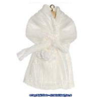 (§) Disc $2 Off - Dollhouse White Robe - Product Image