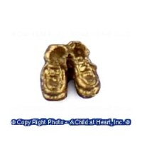 § Sale .30¢ Off - Dollhouse Baby Shoes - Product Image