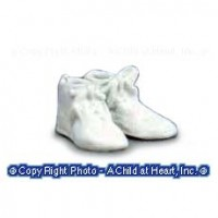 § Sale .60¢ Off - Dollhouse Baby Shoes (Attached) - Product Image