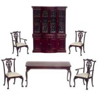 Dollhouse Le Francesco Dining Room by Bespaq - Product Image