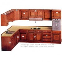 (*) Un-Finished Lower Cabinets - Product Image