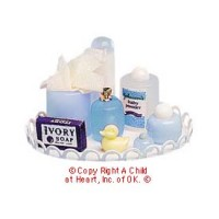 § Sale $1.50 Off - Nursery Tray in Blue - Product Image