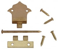 Offset Hinges with Nails - Product Image