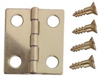 § Disc .50¢ Off - Dollhouse Roof & Wall Hinges - Product Image