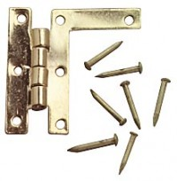 HL - Hinges with Nails - Product Image