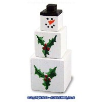 Christmas Snowman Stack - Product Image