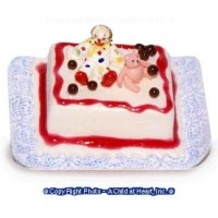 Dollhouse Clown Sheet Cake - Product Image