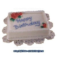 (§) Sale $1 Off - Dollhouse Birthday Sheet Cake (Assorted) - Product Image