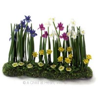 Dollhouse Flower Beds - Product Image