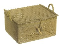 (Reduced) Dollhouse 3 pc Small Picnic Basket - Product Image