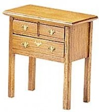 Dollhouse Chippendale Side Table (Kit) - Product Image