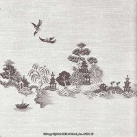 § Sale .70¢ Off - China Grove Mural - Product Image