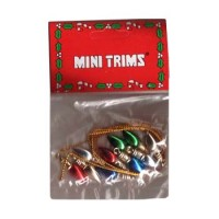 § Disc $1 Off - 12 Dollhouse Christmas Bulbs - Product Image
