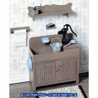 Dollhouse Kitchen Dry Sink (Kit) - Product Image