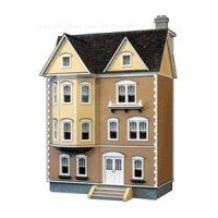 1/2 in Scale - East Side Townhouse Dollhouse - Product Image