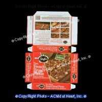 (*) French Bread Pizza Box (Kit) - Product Image