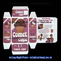 (*) Dollhouse Ice Cream Cone Box Kit - Product Image