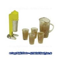 (*) 6 pc Dollhouse Malt Machine Set - Product Image