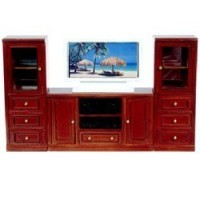 Complete Dollhouse Entertainment Center - Product Image