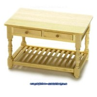 Dollhouse Kitchen Work Table - Product Image