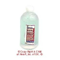 (§) Sale .20¢ Off - Dollhouse Bottle of Rubbing Alcohol - Product Image