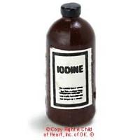 (§) Sale .20¢ Off - Dollhouse Iodine Bottle - Product Image