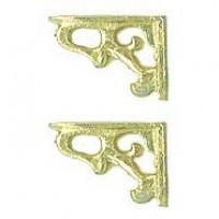 Dollhouse Wall Shelf Brackets - Product Image