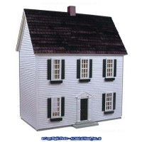 1/2 in. Scale - Colonial Dollhouse Kit - Product Image