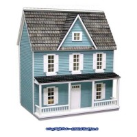 1/2 in. Scale - Farmhouse Dollhouse Kit - Product Image