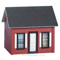 1/2 in. Scale Keeper Cottage House ''Kit'' - Product Image