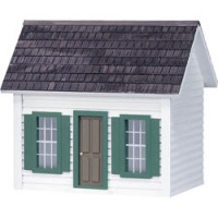 "(Finished) 1/2"" Scale Keeper Cottage Dollhouse - Product Image"