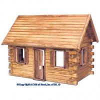 Crockett's Cabin Dollhouse (Kit) - Product Image