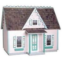 Victorian Cottage Jr. Dollhouse (Kit) - Product Image
