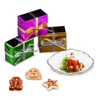 Dollhouse Christmas Cookies Gift Set - Product Image