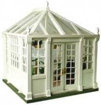 Dollhouse Conservatory Display (Kit) - Product Image