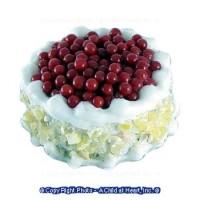 Dollhouse Cherry Royal Cake - Product Image