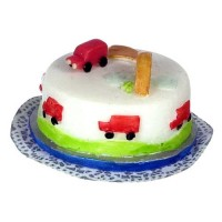 Dollhouse Travling Truck Cake - Product Image