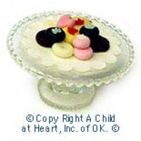 § Disc $1 Off - Dollhouse Cookies on Stand - Product Image