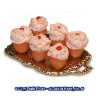 § Disc $2 Off - Dollhouse Cup Cake Tray - Product Image
