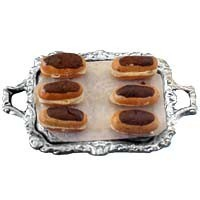 § Disc. $1 Off - Dollhouse Tray of Yummy Eclairs - Product Image