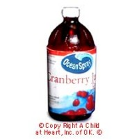 § Disc $1 Off - Dollhouse Cranberry Juice Bottle - Product Image